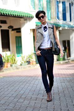 Model off duty : Vivien Ong