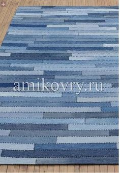 Terrific Totally Free Jeans Pocket Rug AMIKOVRY (selection) / Alteration of jeans . Suggestions I enjoy Jeans ! And much more I love to sew my own personal Jeans. Next Jeans Sew Along I am going Artisanats Denim, Denim Rug, Jean Crafts, Denim Crafts, Blue Jean Quilts, Denim Ideas, Recycle Jeans, Recycled Denim, Rug Making