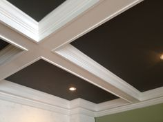 coffered ceiling in kitchen - Bing Images Country Chic Kitchen, Ft Island, Coffer, Reclaimed Barn Wood, Wood Accents, Backsplash, Windows, Mirror, Ceilings