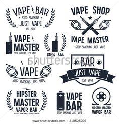 Vape Shop Stock Images - Vape Logos @ Shutterstock