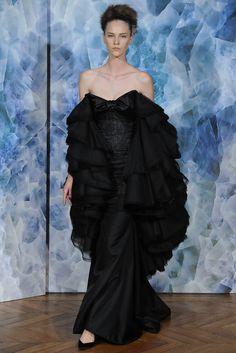 Alexis Mabille Fall 2014 Couture Fashion Show - Nicole Pollard (OUI)