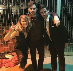 Rose, Andrew & Colin