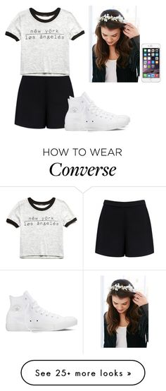 """What is love...."" by hannahmcpherson12 on Polyvore featuring Forever New, Forever 21, Converse, women's clothing, women, female, woman, misses and juniors"