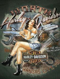 Harley Davidson Posters, Harley Davidson Images, Harley Davidson Dealers, Harley Davidson T Shirts, Vintage Harley Davidson, Harley Davidson Motorcycles, Harley Davidson Wallpaper, Motorcycle Art, Bike Art