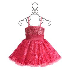 Ooh La La Couture Pink Wow Pouf Dress (465 BRL) ❤ liked on Polyvore featuring baby