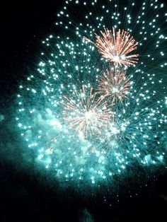Canada Day fireworks in Ottawa.  Photo courtesy of Fiona Mitchell.