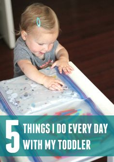 5 Things I Do Every Day with my Toddler