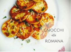 Gnocchi Alla Romana Recipe! Easy only 3 ingredients + plus no pasta machine required!