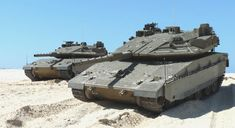 Israeli Merkava 4 tanks