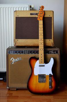892e96847 Some of the best of Fender. Fender Guitar Amps, Guitar Rig, Fender  Telecaster