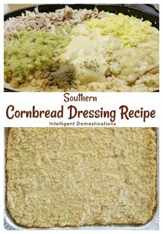 How to make Cornbread Dressing from scratch southern style. This is my Southern Cornbread Dressing recipe which I have been making for my family for many years. Southern Style Cornbread Dressing, Soul Food Cornbread Dressing, Cornbread Dressing With Sausage, Homemade Cornbread Dressing, Chicken And Dressing Casserole, Southern Dressing Recipe, Homemade Dressing, How To Make Cornbread, Southern Food