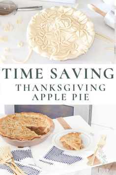 Save time with this Thanksgiving with this secret time saving apple pie!