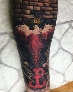 Polish Tattoos, Traditional Tattoo, Cool Stuff, History, Ideas, Tatoo, Military Tattoos, Tattoo Ideas, Poland