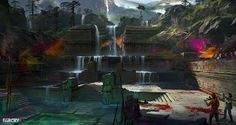 ArtStation - Arena Water, Herve Groussin aka Nuro