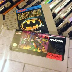 On instagram by retro_kaptain  #retrogaming #microhobbit (o)  http://ift.tt/1UhsXSj  I think I'll have a batman themed night... Before Fallout 4 of course... #batman #nes #snes #robin #nintendo #supernintendo #thedarkknight  #retrocollective #gamer #videogames