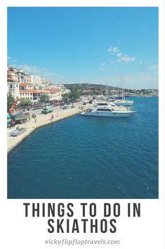 Skiathos tourist map | Skiathos holiday. | Pinterest | Skiathos ...
