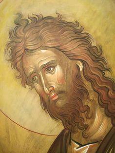 Byzantine Icons, Religious Images, John The Baptist, Art Icon, Holy Family, Orthodox Icons, Christian Art, Fresco, Christianity