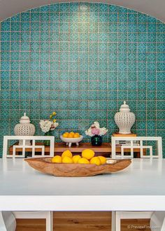 Moroccan tile in modern home decor