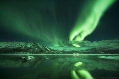 Aurora by Tommy Eliassen, via 500px