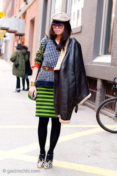 Pinned from Gastro Chic:--- love the bright stripes