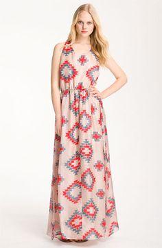 Myne Print Silk Maxi Dress | Nordstrom - $110