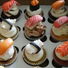 Sushi Cupcakes ~ Inspiration