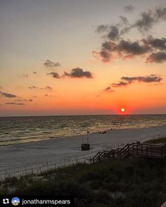 There's nothing sweeter than a #SouthWalton sunset. #Florida