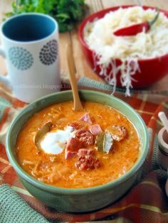 Healthy Soup Recipes, Cooking Recipes, Good Food, Yummy Food, Veggie Soup, Hungarian Recipes, Slow Cooker Soup, Food 52, No Cook Meals