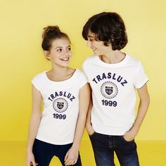 Nueva Colección Primavera-Verano 2015 de Trasluz, Moda Moda Infantil, Moda Juvenil. New Collection Spring-Summer 2015 by Trasluz Casual Wear, Kids Clothing, T-shirt, Jeans