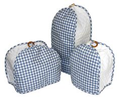 Blue Gingham Quilted Kitchen Appliance Cover  from Bedbathhome.com    Altmeyer's          for DI Kitchen