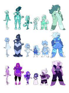 color-code gem adopts (CLOSED) by lymerikk on DeviantArt Steven Universe Anime, Steven Universe Drawing, Universe Art, Gem Fusions, My Gems, Cute Art, Sailor Moon, Adoption, Character Design