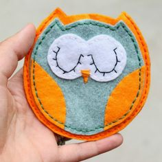 Felt Hexagon Coaster - Sugar Bee Crafts
