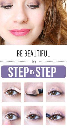 L'adorable Lou nous partage son make-up chouchou ! Pour réaliser ce make-up il vous faut : Base à paupières (Réf.21711) - Palette d'ombres à paupières « Day to Night » (Réf.83327) - Pinceau mélangeur pour l'œil (Réf.1803) - Pinceau eyeliner (Réf.1814) - Mascara définition (Réf.93002)