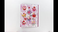 Decoupage Ring Binder with crackles - Decoupage tutorial - DIY - Do It Yourself - YouTube