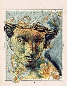 Cartografía ilustrada. Fernando Vicente