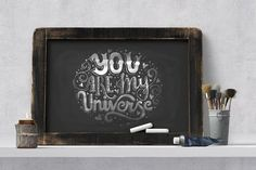 11 Hand Lettering Quotes  - Illustrations