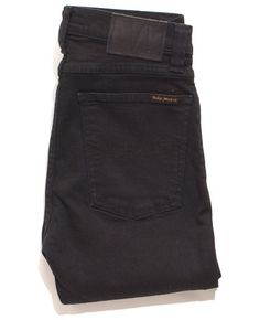 High Kai Black Black - Nudie Jeans, home