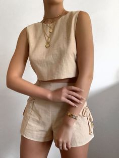 Cute Casual Outfits, Stylish Outfits, Summer Outfits, Stylish Clothes, Girly Outfits, Mode Outfits, Fashion Outfits, Womens Fashion, Fashion Hair