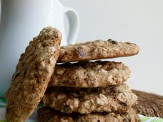 vegan oatmeal chocolate chip cookies by Pamela Salzman