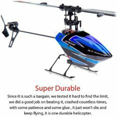 Looking to get into CCPM without breaking the bank. Here is a super fun RTF RC Helicopter you can have a blast with. Helicopter 3d, Pocket Bike, Model Hobbies, Control System, Radio Control, Spare Parts, Flexibility, Bright Lights, Drones