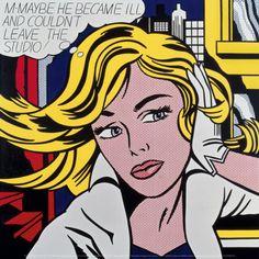 By Roy Lichtenstein  in 1965