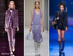 Spring/ Summer 2017 Fashion Trends: Velvet
