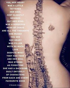 yes, her Heart was a little tattered ~ her Soul just slightly bruised ~ but her Mind was a gorgeous mess of chaos . Mottos To Live By, Quotes To Live By, Book Quotes, Me Quotes, Random Quotes, Alice Book, Cute Tats, Heart Songs, Poems Beautiful