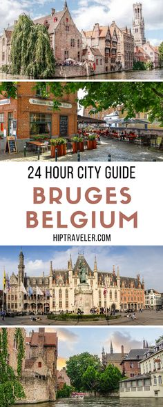 The best things to do and see in the charming town of Bruges, Belgium with just one day in the city. Travel in Europe. | Blog by HipTraveler #Bruges #Belgium