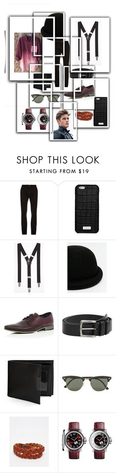 """""""PRINCE CHARMING """" by janaboughanem ❤ liked on Polyvore featuring Raf Simons, Michael Kors, Express, ASOS, River Island, MANGO MAN, Perry Ellis, Ray-Ban, Jack & Jones and men's fashion"""