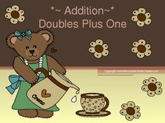 "Fern Smith's PowerPoint, Math ""Doubles Plus One"" in Addition Concept at TPT!"