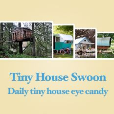 Love cabins and tiny places to stay overnight, instead of a motel room!
