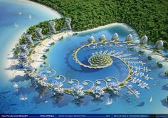 Gallery of Vincent Callebaut Envisions Shell-Inspired Eco-Tourism Resort in The Philippines - 34