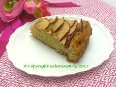My Apples Tart:  una torta di mele dolcissima e leggera, perfetta  per la colazione sia per chi è intollerante al lattosio che per chi è a dieta.  Per questa ricetta ho utilizzato…