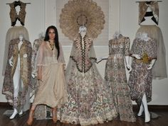 Designer Anamika Khanna's 'Luxury 2014' Couture Collection for ICW 2014..... For more visit: http://www.bollyvision.in/